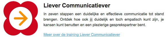 Communicatietraining Liever Communicatiever